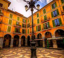 Spanish Street Lamp by Luke Griffin