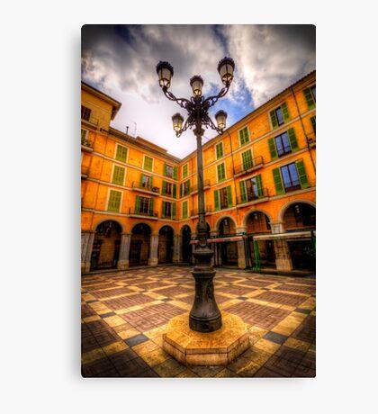 Spanish Street Lamp Canvas Print