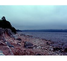 Shore of Loch Ness Photographic Print
