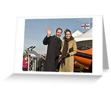 Prince William and Catherine Greeting Card