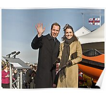 Prince William and Catherine Poster