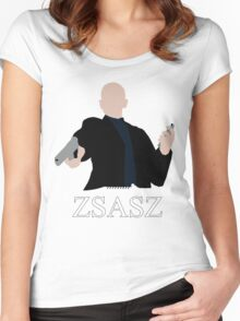 Victor Zsasz Women's Fitted Scoop T-Shirt