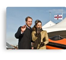 Prince William and Catherine No. 2. Canvas Print