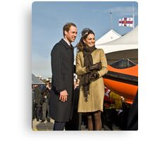 Prince William and Catherine No. 3. Canvas Print