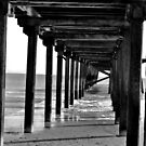 Under the Pier by Paul Hickson