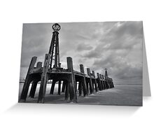 LYTHAM OLD PIER, BLACKPOOL Greeting Card