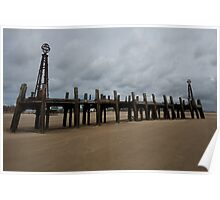 LYTHAM OLD PIER, BLACKPOOL 2 Poster