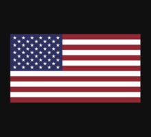 USA - American Flag - iPhone Phone Cover Kids Tee