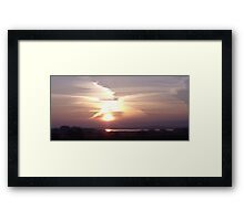 X Factor Sky Framed Print