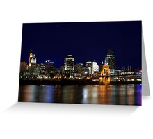 Cincinnati SkyLine 4 Greeting Card
