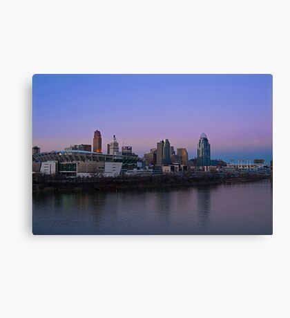 Cincinnati SkyLine 5 Canvas Print