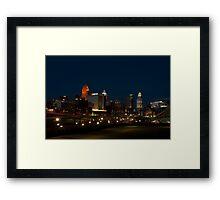 Cincinnati SkyLine 6 Framed Print