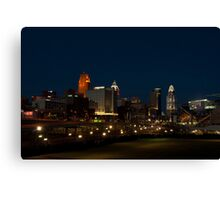 Cincinnati SkyLine 6 Canvas Print
