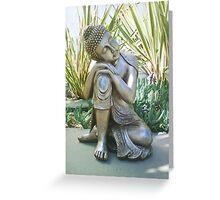 Buddha in Peace Photo Greeting Card