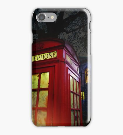 London Tardis iPhone Case/Skin