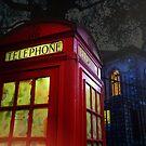 London Tardis by Jasna
