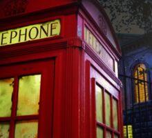London Tardis Sticker