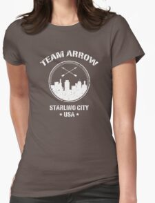 Team Arrow Womens Fitted T-Shirt