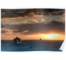 Sailing Into The Sunset 1 Poster