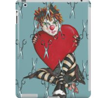 Sad Clown iPad Case/Skin
