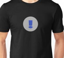Exclamation Mark T-Shirt ~ Exclamation Point ! Clothing Case Unisex T-Shirt
