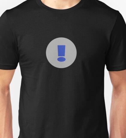 Exclamation Mark T-Shirt ~ Exclamation Point ! Clothing Case Unisex T-Shirt