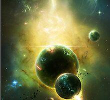 White Dwarf Explosion by charmedy
