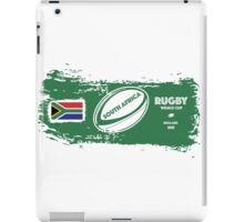 South Africa Rugby World Cup Supporters iPad Case/Skin