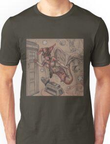 ComicCon Winged Merbunny Unisex T-Shirt
