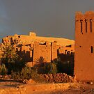 Kasbah at Sunrise, Morocco by Keith Molloy