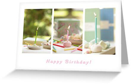 Happy Birthday Sweetie! by Hirondelles