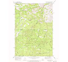 USGS Topo Map Oregon Dutchman Creek 279736 1968 24000 Photographic Print