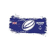 New Zealand Rugby World Cup Supporters Photographic Print