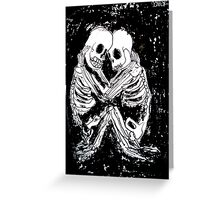 till death.... Greeting Card