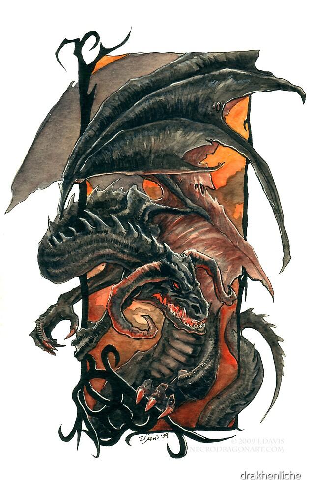 Fiery Black by drakhenliche