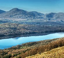 Across Coniston Water From The Other Side by Jamie  Green
