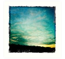 Bolton Skies - Nearly Sunset Art Print