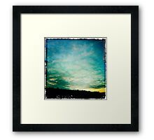 Bolton Skies - Nearly Sunset Framed Print