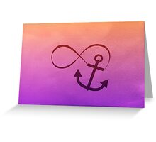 Anchor Me Forever Greeting Card