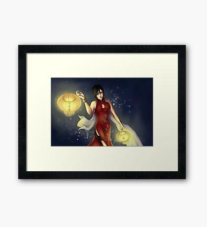 Ada Wong Framed Print