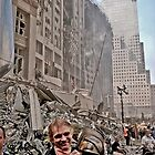 Ground Zero - 9/12/2001 by Richard Earl