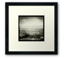 View Towards Egerton Framed Print