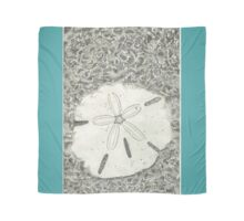 (larger scan) Sand dollar in shallow water, beach, ocean Scarf