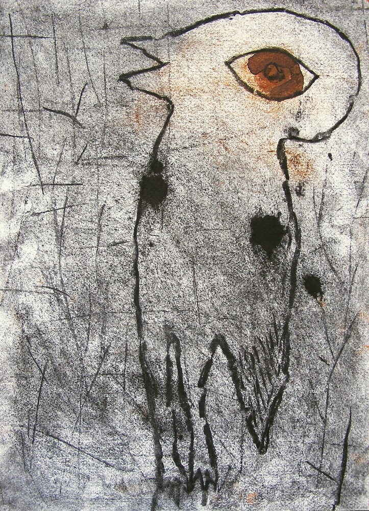 bush stone curlew by donna malone
