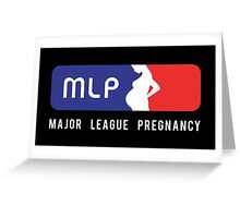 Major League Pregnancy Greeting Card