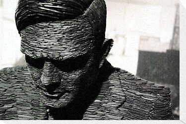 Alan Turing, Bletchley Park by Guy Carpenter