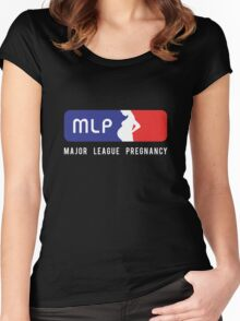 Major League Pregnancy Women's Fitted Scoop T-Shirt