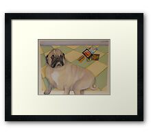Frankie Goes On Vacation Framed Print