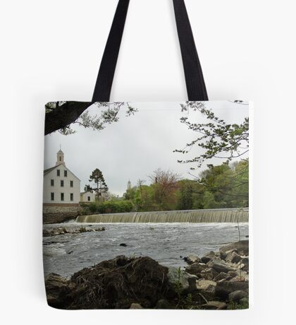 Slater Mill and Dam Tote Bag