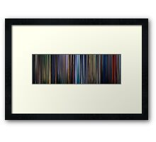 Moviebarcode: Bambi (1942) Framed Print